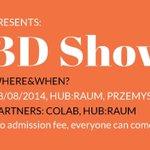 remember about our #3dprint splash? @HubraumKrakow @colabpl #omgkrk #3dprinting #Krakow Be sure to join us!6pm,28.08 http://t.co/mjsm469sYc