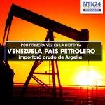 RT @NTN24ve: A pesar de ser un país petrolero, Venezuela considera importar crudo de Argelia http://t.co/nFEE97KAc1 http://t.co/D7IhAqK7ZH