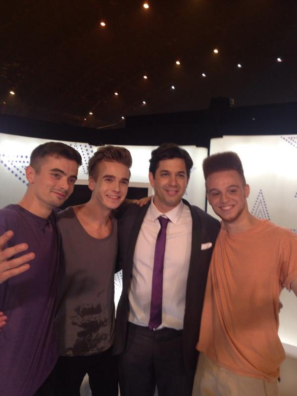 What a last show with our homeboy @Joe_Sugg and @ThatAdamGarcia #goodtimes #GotToDance http://t.co/ZHqI5OQpTe