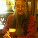 RT @PoppyandPint: Roy enjoying a fine pint of Newby Wyke Chesapeake #ipatrail #happydays @NottinghamCAMRA @NottmCAMRAYM @ScreechOwlCRB http://t.co/JyEAEzfxgO