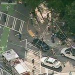 RT @FOX5Atlanta: Scene of officer involved stabbing and shooting near Woodruff Park downtown Atl. Officer stabbed will be ok. #fox5atl http://t.co/GctfVgX4XL