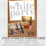 """Contact yblimited2@gmail for makeover bookings prior to """"The White Party"""" #Atlanta #ATL #atl #atlevents #whiteparty http://t.co/gdaQwN7V9u"""