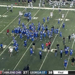 RT @ESPNCFB: Georgia State defeats Abilene Christian 38-37 on 26-yd FG with :07 left for 1st win since 10/13/12 #ACUvsGSU http://t.co/k9TXrg3X0y