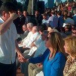 RT @eluniversocom: Monseñor Antonio Arregui, Heinz Moeller y concejal Josué Sánchez, entre asistentes al acto por LFC http://t.co/E9q7Y3EIO0 vía @SGomezEcu13