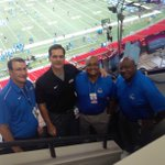 The crew is ready for GSU Football. Pregame at 6:30. Kickoff at 7pm.GSU vs Abilene Christian on 1340thefan2 http://t.co/4kFRjeGMA8