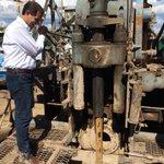 RT @mrlujan2: Gobernador @guillermopadres enciende perforadora para proveer de agua con reubicación de pozos #Huepac #SalvemosalRio http://t.co/eA48n34RJo