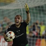 RT @BBCSport: Ludogorets defender Cosmin Moti turns keeper, saves 2 shootout pens & earns #ucl qualification http://t.co/33gX4KgoWY http://t.co/uhFJiboggM