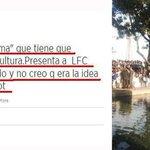 """Ya lo dijo @lolacienfuegos en el 2012. El monumento a LFC que han colocado, es un León """"abatido y ahuevado"""".FAIL http://t.co/hYCUnNmjVY"""