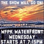 RT @LouMUSICulture: Praise the Music Deities in Louisville, KY! @WFPK #WaterfrontWednesday is a go at @wfpark! Starts at 7:15PM tonight! http://t.co/8TFwB84Rex