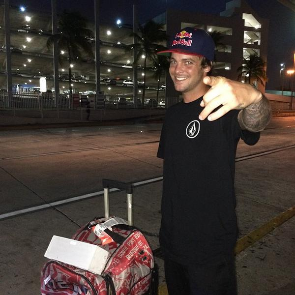 Look who's in Puerto Rico, Mister @RyanSheckler WEEEEEPAAAAA http://t.co/fRsBOFJlfm
