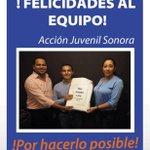 Gracias al equipo de @ajuvenilsonora por apoyarnos a superar la meta ¡Vamos UNIDOS por un #SalarioDigno! http://t.co/Ju80sGVKCA