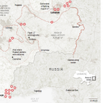 Map: Ukraine says Russia and separatists opened up a third front of fighting http://t.co/D7Z8eIeG0r http://t.co/KRX50ZA3fV