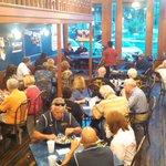 "@SUPirates #PiratesFight RT ""@AustinMarissa: Its a full house at Burger University! @kmacsports @CoachJoeAustin http://t.co/FuiqFdsCrl"""