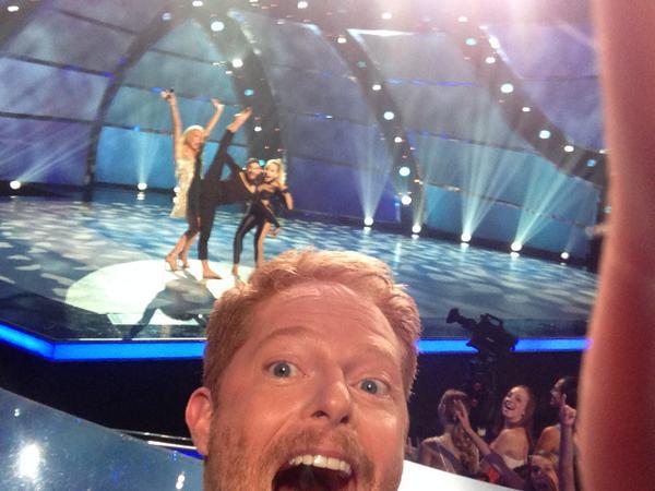 Oh you know, @jessetyler takin' selfies on #sytycd! http://t.co/pGoMq4GCXl