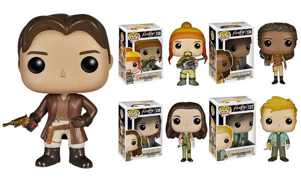 WANT! Firefly's @NathanFillion @JewelStaite @AdamBaldwin @alan_tudyk & Zoe are now Funko toys! http://t.co/J2XsegNIjA http://t.co/1hwdDWqg3l
