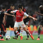 Morning all! Heres @Arsenals man of the moment, surrounded by Besiktas defenders last night... http://t.co/0sfA2JcD2O