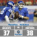 Thank you #PantherFamily for being there for tonights exciting win! #AllBlueAllIn http://t.co/tRBlN1r8zr