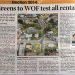 RT @farmgeek: Good coverage of @NZGreens great rental WOF policy in the Times Age #LoveNZ http://t.co/CoXkd7Ga9a
