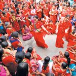 The Kathmandu Post would like to wish a very happy Haritalika Teej festival to all women across the country. http://t.co/qD9SeFgmeo