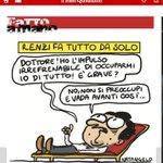 Monocrazia renziana. Renzi scarica i suoi ministri: Orlando, Poletti, Giannini, Lorenzin. Il prossimo sarà Padoan? http://t.co/gMtNujT33y