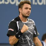 RT @usopen: A win for #Wawrinka! Fourth-set tiebreak decides the victory over #Bellucci, 6-3, 6-4, 3-6, 7-6. #usopen http://t.co/c4o5p1492Q
