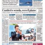 RT @la_stampa: BUONGIORNO! La prima pagina de @la_stampa di oggi http://t.co/QszoORlLxg http://t.co/Y44SrYR6HN
