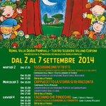 2-7 settembre @TSVCorsini #VillaPamphilj Festival #teatrooragazzi di #Roma Lucciole e Lanterne http://t.co/rHiqKnlFwu http://t.co/HwdnHLKLwv