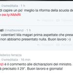RT @ColetteMao: Ormai è considerato normale, ma #renzi che risponde via twitter alla questione riforme mi mette un po a disagio. http://t.co/ggortNfBZe