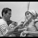 Pier Paolo #Pasolini e Antonella Lualdi #Historyfotoarc 63 #Venice #Venezia71 @radiocafoscari @simonacarnevale http://t.co/uGH4RTxO8n