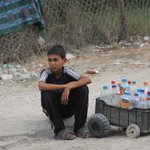 """RT @IHHen: IHH launched a new campaign for #Gaza called """"Be a cure to Gazas thirst. Become a drop of water for Gaza."""" http://t.co/lBfgV0zxEQ"""