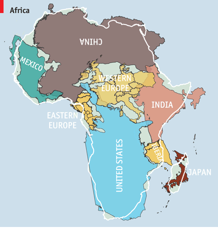 How big is #Africa, really? http://t.co/aiAzUziizC (via @TheEconomist) http://t.co/KqxriYd1Bv http://t.co/ws6jqHfTEC