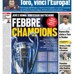 #primapagina: @ChampionsLeague Oggi i sorteggi: batticuore per @juventusfc e @OfficialASRoma http://t.co/wNCGuTcBSW http://t.co/rfcODM2TID