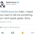 @NikNikolopoulos, a Greek MP and theologist, calls Luxembourgs PM a faggot. Its all Greek to @Xavier_Bettel: <3 http://t.co/ZsHU2Ovdzn