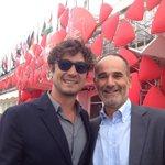 Con @RicScamarcio a #Venezia71 tra La vita oscena di De Maria e Pasolini di Abel Ferrara http://t.co/qwhFR7w07q