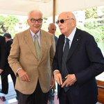 #Venezia71 Il Presidente della Repubblica Giorgio Napolitano accolto ieri dal Presidente della Biennale Paolo Baratta http://t.co/8ivErNorAK