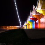 Chalets in lights @Scarborough_UK @DiscoverCoast @in_Scarborough @w_scarborough @paddybillington http://t.co/YYjvJ9ApzA