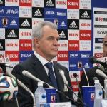 【日本代表談話】アギーレ新監督が日本代表メンバー発表「過去の代表は基準ではない」 http://t.co/LE74fQ2dRK また、アギーレ監督は、最初の目標を「アジアカップでいい結果を」と定めています。 http://t.co/mop4GsERbt
