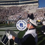 .@PennStateFball Marching Blue Band & Cheerleaders from PSU & UCF perform at CHQ building Customs House Quay at 1pm http://t.co/HdLxBcPkDB