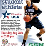 """Tune into SSN TV http://t.co/SCuxca1143 today 2pm Zim time to watch """"A day in the life of a student athlete"""" @CONX http://t.co/qj11G9rU8J"""
