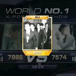 RT @kor_celebrities: 今週の「Mカウントダウン」1位、WINNER - Empty (8/28) http://t.co/5pubgNmhnV