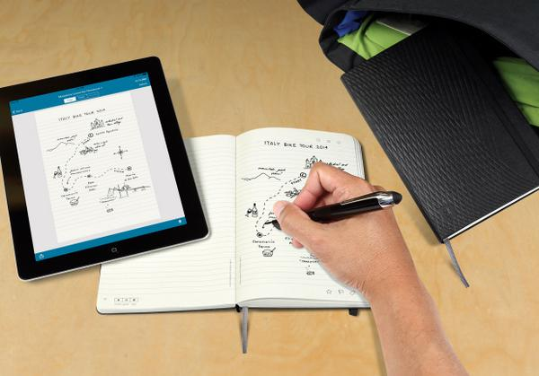 New Moleskine books let you save your handwriting digitally: http://t.co/m9x2zSRJd9 http://t.co/OaIih2KpXV
