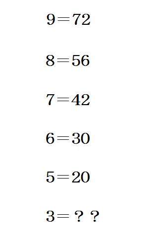 どうやったら6になると?! RT @ta_yu_ru: これ6って答える人は物事を論理的に考え人で、9って答える人は物事を感覚で捉える人だな http://t.co/ykRiGfDQik