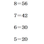 6派→n×(n-1)の計算をしている 3×2=6 9派→与えられた数字×前項で省略された数字-1の計算をしている(この場合前項が5(×4)=20なので4-1=3) 3×3=9 https://t.co/uZSEenm9Nc