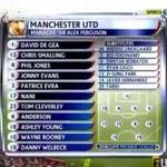 3 YEARS AGO TODAY: Sir Alex Fergusons Man United beat Arsenal 8-2 with this Starting XI. http://t.co/j9wp0A3NDS