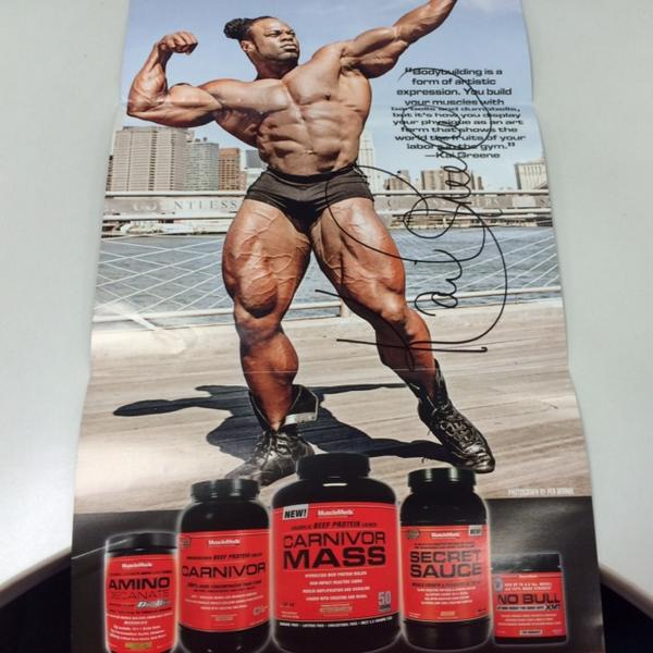 RETWEET to win a free autographed @KaiGreene poster! http://t.co/W5aba8Gdxg http://t.co/icZ8Fzp3Dz