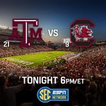RT @SECNetwork: 5 hours til football. ARE YOU READY?? #TAMUvsSC http://t.co/nM3ymAxjb5