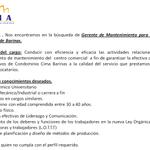 via @CCCIMA: Vives en #Barinas forma parte de gente cima, estamos buscando #Publicista & #GerenteDeMantenimiento --> http://t.co/9qbvQ1Om3i