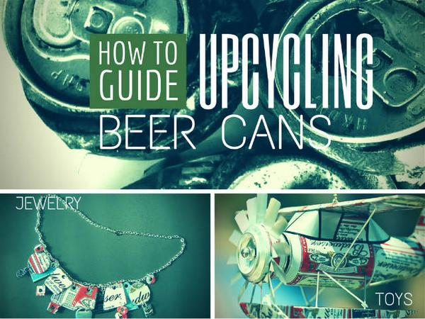 Don't toss those beer cans after Labor Day; craft with 'em http://t.co/CMo6VfyRba #beercans #upcycling http://t.co/haRJjhk6ar