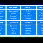 ¡GRUPOS DE LA CHAMPIONS LEAGUE! http://t.co/7xiYPB3NMd