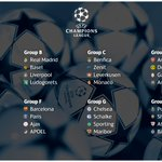 The #UCLdraw is complete and here is the result: http://t.co/3Wf51M1VRd